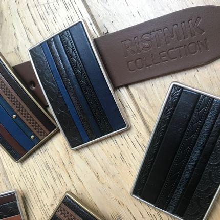 Ready-to-wear - CARL, ceintures en cuir (vendue sans boucle) - RISTMIK