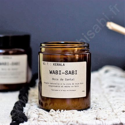 Decorative objects - Candle NO.7 : Kérala by Wabi-Sabi - WABI-SABI
