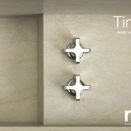Faucets - Times | Concealed wall-mounted washbasin mixer - RVB