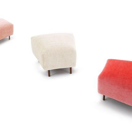 Seats - Ann trapezium footstool - ARIANESKÉ