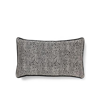 Objets de décoration - Wachuma Coussin Géométrique Noir - COVET HOUSE