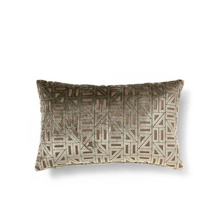 Decorative objects - ZELLIGE BROWN GEOMETRIC - COVET HOUSE
