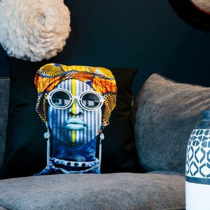 Cushions - Pillow VICONDA by Human Indigo - ARTPILO