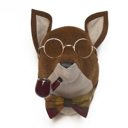 Objets déco - Soft Fox Elliot - Tète d'animal - SOFTHEADS