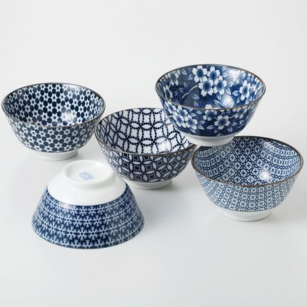 Bowls - Made in Japan ceramic bowl - SHIROTSUKI / AKAZUKI JAPON