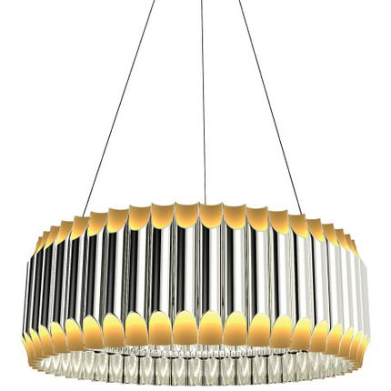 Plafonniers - GALLIANO ROUND SUSPENSION - COVET HOUSE