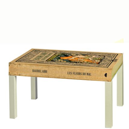 Coffee tables - TAVOLO-LIBRO  Book Table - ART FRIGÒ - ABAT BOOK