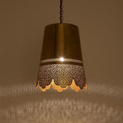 Pendant lamps - NAHAS Moroccan Ceiling Pendant - MOROCCAN BAZAAR