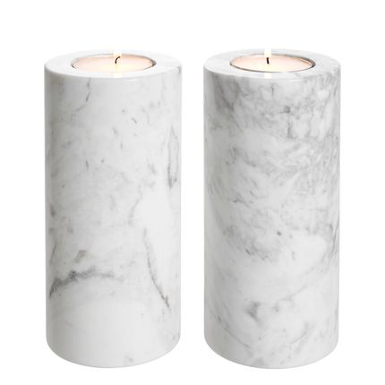 Objets de décoration - Tealight Holder Tobor L set of 2 - EICHHOLTZ