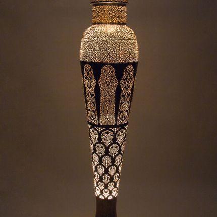 Floor lamps - MANSOUR Standing Floor Lamp - 180cm - Moroccan Bazaar