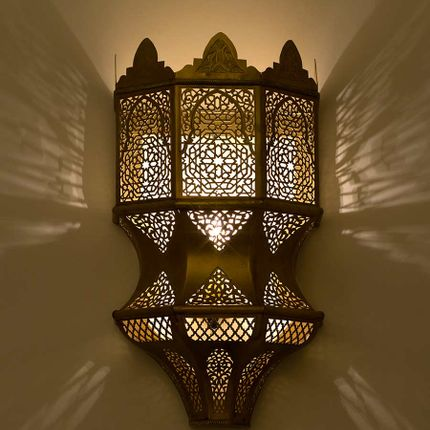 Wall lamps - FORT Wall Fixture - Moroccan Bazaar