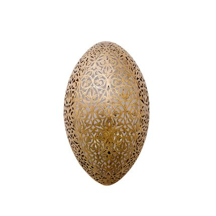 Wall lamps - OVAL Moroccan Wall Light - MOROCCAN BAZAAR