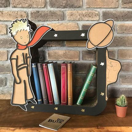 Decorative objects - LITTLE PRINCE BOOKSHELF - BOX BUTIK