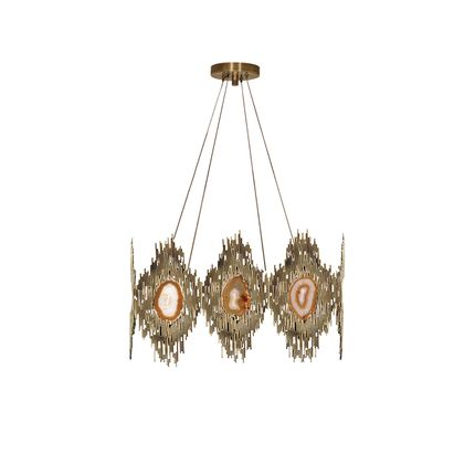 Ceiling lights - Vivre Square Chandelier - KOKET