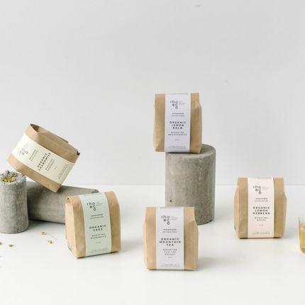 Café / thé - Tisanes Monovariétales de Spécialité Bio - RHOECO - FINE ORGANIC GOODS