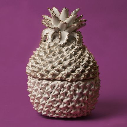 Vases - Ceramic Pineapple Vase - ASIATIDES