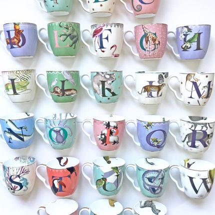 Tasses et mugs - Yvonne Ellen Monogram Mugs - YVONNE ELLEN / MOLLY HATCH