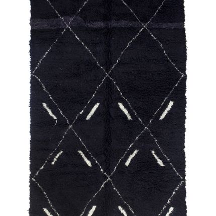 Contemporary - TAA1247BE Berber Rug  Beni Ourain - 287X202 cm - 113X79.5 in - AFOLKI BERBER RUGS