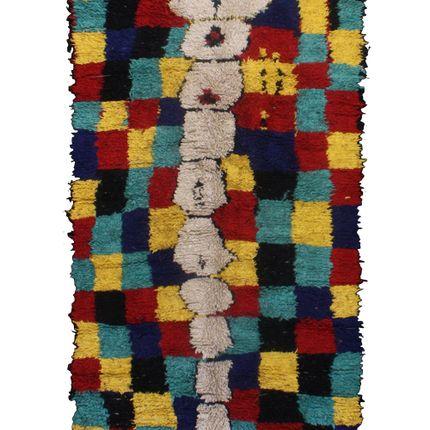 Rugs - TAA851BE Berber Rug Azilal - 220X130 CM - 86.6X51.2 in - AFOLKI BERBER RUGS