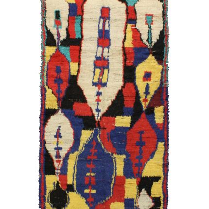 Rugs - TAA702BE Berber Rug  Azilal - 280X150 cm - 110.2X59.1 in - AFOLKI BERBER RUGS