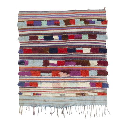 Contemporary -  TAA1178BE Berber Rug Azilal - 190X165 cm / 74.8 X 65 in - AFOLKI BERBER RUGS