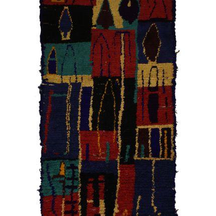 Rugs - TAA959BE Berber Rug Azilal 260X150 cm / 102,4 X 59,01 in - AFOLKI BERBER RUGS
