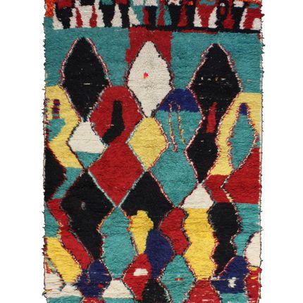 Classic - TAA737BE Berber Rug Azilal 300x160 cm - 118.1X63 in - AFOLKI BERBER RUGS