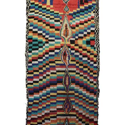 Rugs - TAA739BE Berber Rug Azilal - 360x150 cm - 141.7X59.1 in - AFOLKI BERBER RUGS