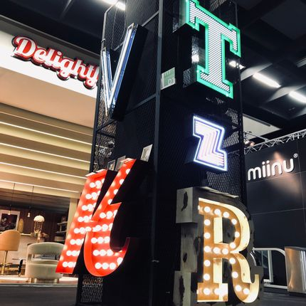 Éclairage LED - Z Graphic Lamp - DELIGHTFULL