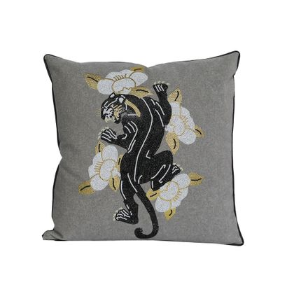Cushions - SAFARI CUSHION - Casa Paradox Luxe