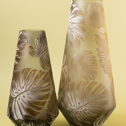 Vases - Tropical Leaf Nancy School Vase - ASIATIDES