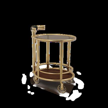 Tables - Baughman | Bar Cart - ESSENTIAL HOME