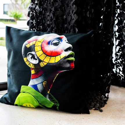 Cushions - Pillow AKONANDI by HUMAN INDIGO - ARTPILO