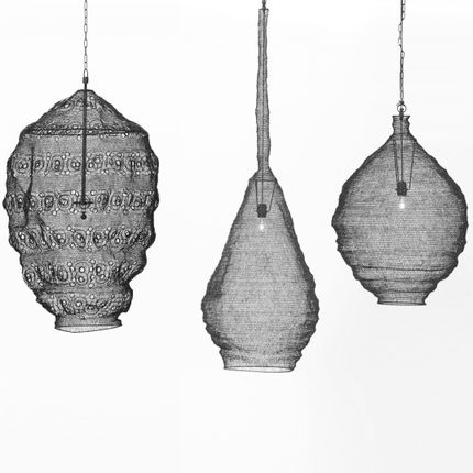 Pendant lamps - MESH P - ESTETIK DECOR