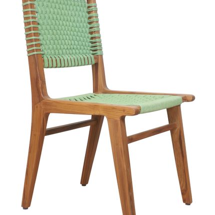 Chaises - Asandi: A weaved wooden chair - ALANKARAM