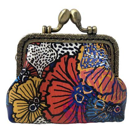 Leather goods -  Retro Flower Wallet - La Miss Simone