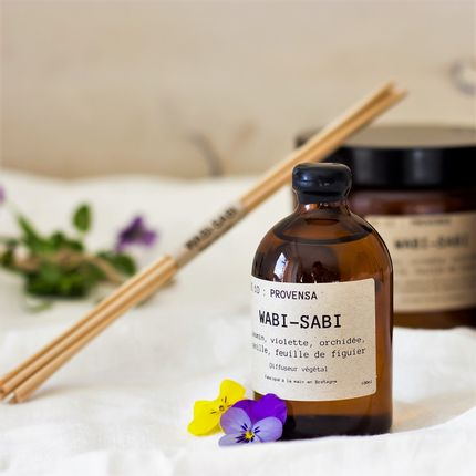 Candles - Candle soywax NO.10 : Provensa by Wabi-Sabi - WABI-SABI