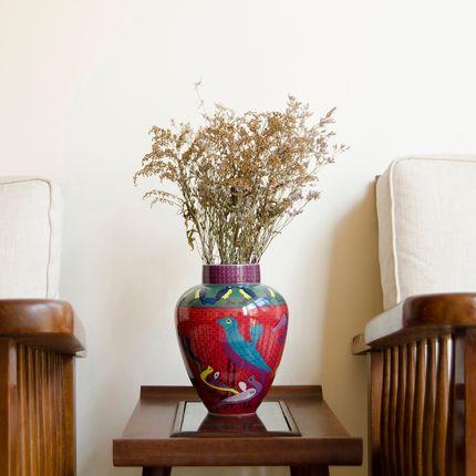 Objets design - Vase Birds of Paradise - IMAGES D'ORIENT
