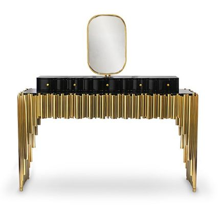 Tables - Symphony dressing table - MAISON VALENTINA