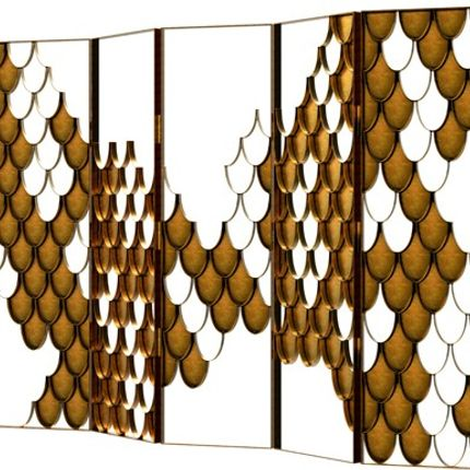 Decorative objects - Koi screen - MAISON VALENTINA
