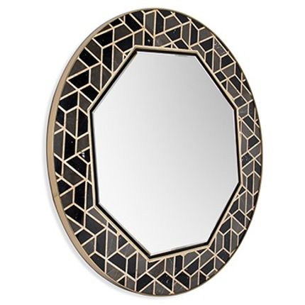 Miroirs - Tortoise Miroir - MAISON VALENTINA
