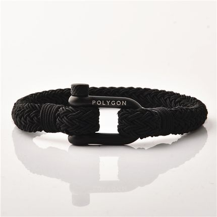 Jewelry - Shackles Bracelet Black - .POLYGON