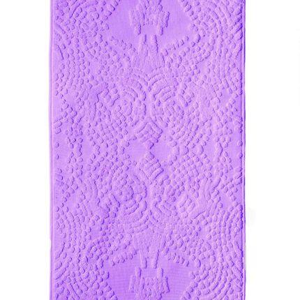 Bath linens - Purple DEW Bath Towel  - SCINTILLA