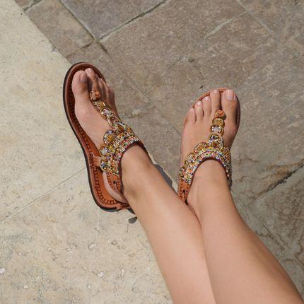 Chaussures - LĀ doré multicolore - ISHOLA