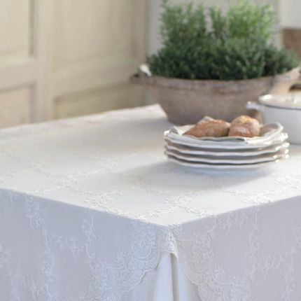 Kitchen linens - Amelia Embroidered Lace - PIMLICO