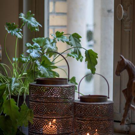 Objets de décoration - Lanterne MONA en métal. - ASIATIDES