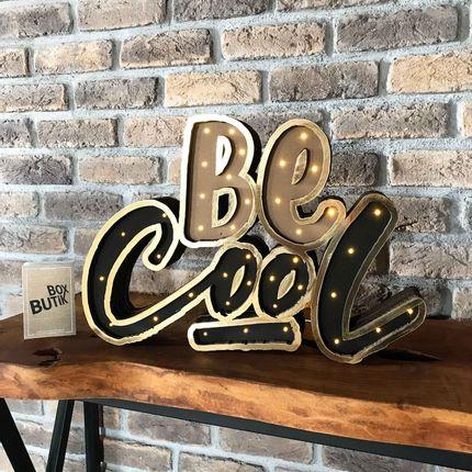 Design objects - BE COOL - BOX BUTIK