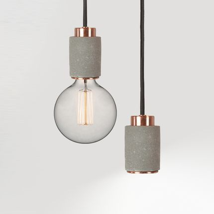 Design objects - CL30 Pendant Light - edison & spotlight - ALENTES