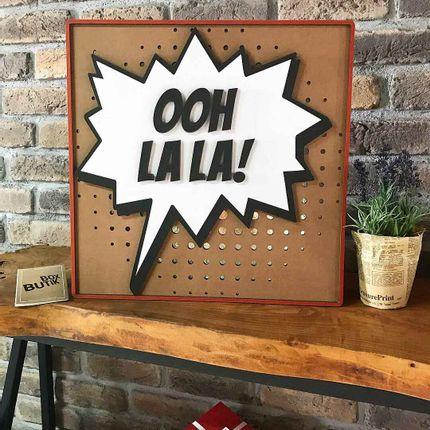 Wall decoration - OH LA LA! - BOX BUTIK