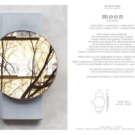 Hotel rooms - MOON wall mirror - ALENTES